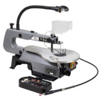 SIP 01947 16″ Scroll saw with flexible drive and 64 pce tool kit