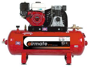SIP04450 – Airmate Industrial Super Compressor – ISHP5.5/150 Ltr. (Honda Petrol Engine)