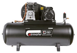 SIP 05302 Airmate PX3/200. 200ltr Receiver Oil Lubricated 16CFM/230v