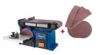 """Scheppach 6"""" x 4"""" Belt & Disk Sander - Kendal Tools"""