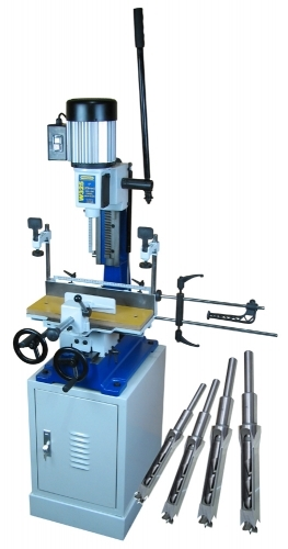 W325 Charnwood 1″ Floor standing morticer with compound table