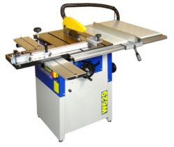 W629 Charnwood 10″ Table saw with sliding table & extension. 3.0hp motor.