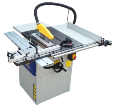 Charnwood W650 Table saw 75mm deep cut plus Sliding Table 3.0hp induction motor