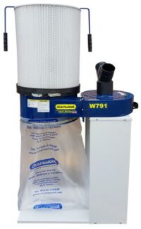 Dust Extractor with 1 Micron Cartridge Filters - Kendal Tools