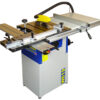 Charnwood W619 8″ Table saw with sliding table & extension. 1.5hp quiet induction motor