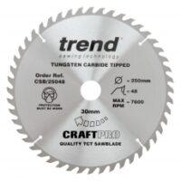 Trend CraftPro TCT Blade - Kendal Tools