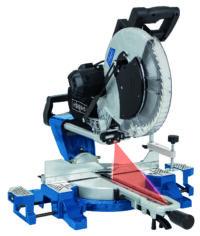 Sliding Double Bevel Mitre Saw - Kendal Tools
