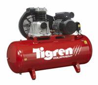 Tigren 200L Drive Air Compressor - Kendal Tools