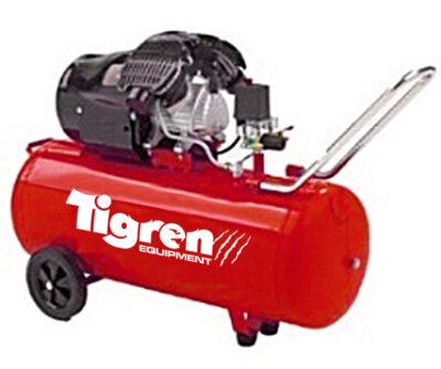 Tigren 100L Drive Air Compressor - Kendal Tools