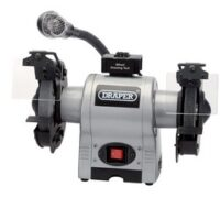 Draper Bench Grinder with Light - Kendal Tools