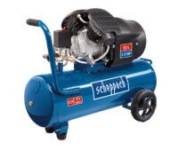 Scheppach Double Cylinder Compressor - Kendal Tools