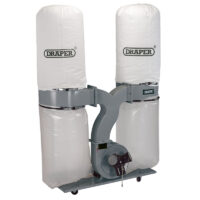 Draper Twin Bag Dust Extractor - Kendal Tools