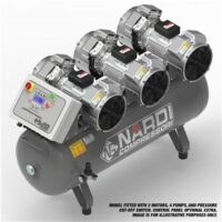 Nardi Extreme 270ltr Air Compressor - Kendal Tools